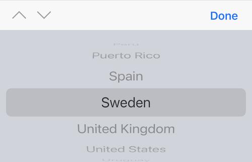 Nuevos Países